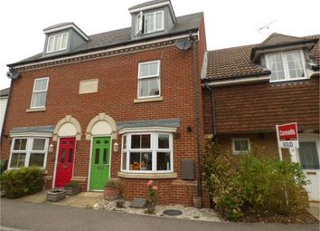 Thumbnail 3 bed town house for sale in Cormorant Road, Iwade, Sittingbourne, Kent