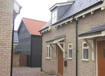 Thumbnail 2 bed terraced house to rent in Mynott Mews, Soham, Ely