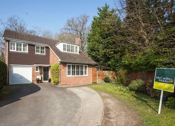 Thumbnail 4 bed detached house for sale in Brinksway, Fleet