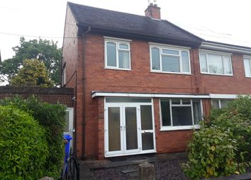 Thumbnail 3 bed semi-detached house to rent in 33 Ashcroft Avenue, Trent Vale