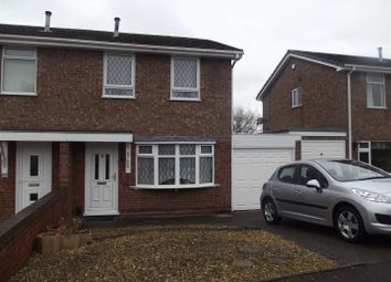 Thumbnail 3 bed semi-detached house to rent in Knight Road, Burntwood