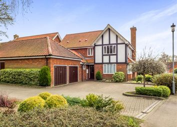 Thumbnail 4 bed detached house for sale in Charles Ewing Close, Aylsham, Norwich