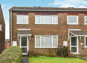 Thumbnail 3 bedroom end terrace house for sale in Golden Drive, Eaglestone, Milton Keynes