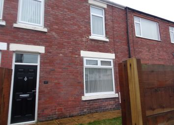 Thumbnail 3 bedroom terraced house to rent in Woodhorn Road, Ashington