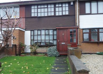 Thumbnail 3 bed terraced house for sale in Coalway Road, Bloxwich, Walsall, West Midlands