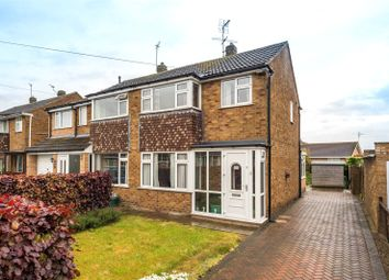 Thumbnail 3 bed semi-detached house for sale in Heath Croft, York