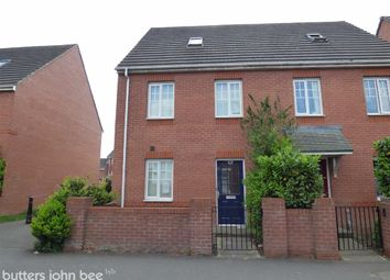 Thumbnail 3 bedroom semi-detached house for sale in Richard Moon Street, Crewe