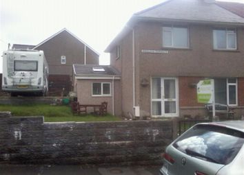 Thumbnail 3 bed detached house to rent in Onslow Terrace, Brynmenyn, Bridgend
