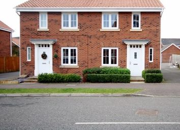 Thumbnail 2 bed semi-detached house to rent in Thistle Drive, Desborough, Kettering