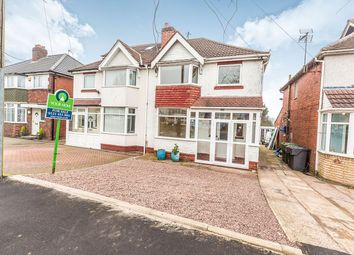 Thumbnail 3 bed semi-detached house for sale in Richmond Road, Rubery, Rednal, Birmingham