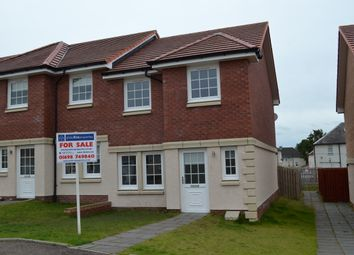 Thumbnail 3 bed end terrace house for sale in Bell Quadrant, Carfin, Motherwell