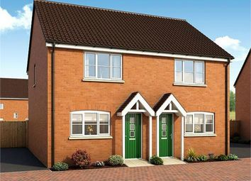 Thumbnail 2 bed end terrace house for sale in The Lockton Plot 194 The Scholars, Poplar Avenue, Peterborough, Cambridgeshire
