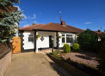 Thumbnail 3 bed semi-detached bungalow for sale in Mill Lane, Great Sutton, Ellesmere Port