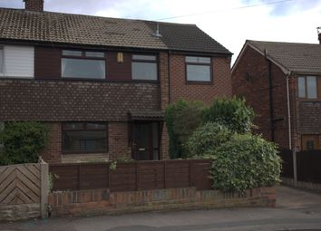 Thumbnail 4 bed semi-detached house to rent in Harefield Road, Pontefract, West Yorkshire