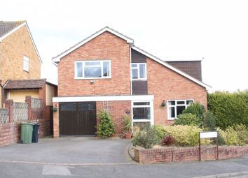 Thumbnail 4 bed detached house for sale in Underley Close, Kingswinford