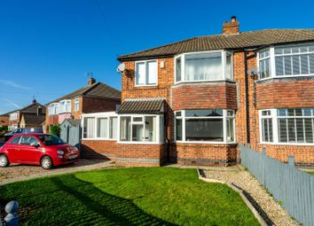 Thumbnail 3 bed semi-detached house for sale in Howard Drive, Rawcliffe, York