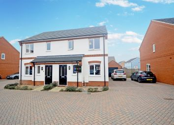 Thumbnail 3 bed semi-detached house for sale in Cringleford, Norwich