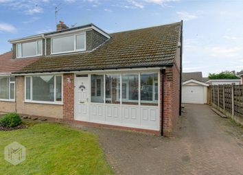 Thumbnail 3 bed semi-detached bungalow for sale in Vernon Road, Greenmount, Bury, Lancashire