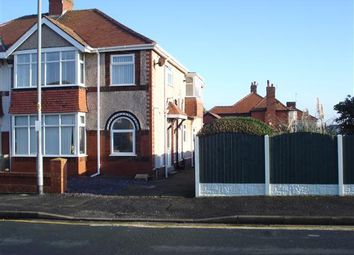 Thumbnail 3 bed flat to rent in Nutter Road, Thornton-Cleveleys