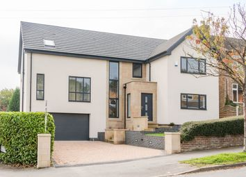 Thumbnail 4 bed detached house for sale in Bushey Wood Road, Dore, Sheffield