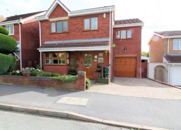 Thumbnail 4 bed detached house for sale in Milestone Way, Willenhall
