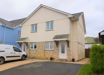 Thumbnail 3 bed semi-detached house for sale in Station Road, Kelly Bray, Callington