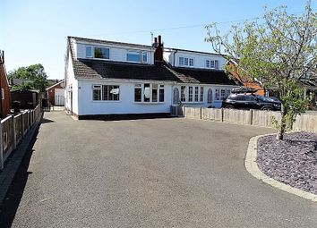 Thumbnail 4 bed semi-detached bungalow for sale in Liverpool Old Road, Walmer Bridge, Preston