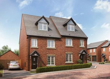 """Thumbnail 4 bed semi-detached house for sale in """"The Elliston - Plot 21"""" at Woodend Cottages, Woodend Road, Mirfield"""