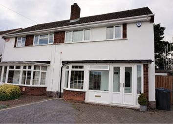 Thumbnail 3 bed semi-detached house for sale in Dower Road, Sutton Coldfield