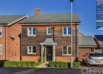 Thumbnail 4 bed detached house for sale in Cowslip Drive, Bishops Cleeve, Cheltenham