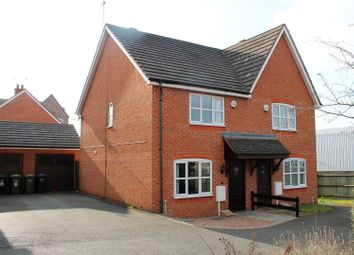 Thumbnail 3 bed semi-detached house for sale in Hipkiss Gardens, Droitwich