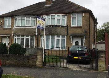 Thumbnail 3 bed semi-detached house to rent in Carr Manor View, Moortown