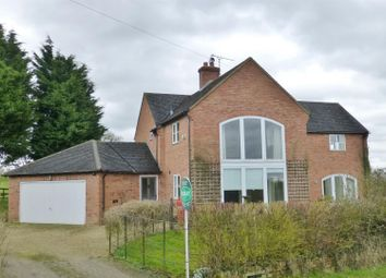 Thumbnail 4 bed detached house to rent in Braunston Road, Knossington, Oakham