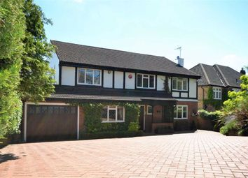 Thumbnail 5 bed detached house for sale in Greenbrook Avenue, Hadley Wood, Hertfordshire
