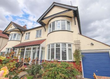 Thumbnail 4 bed semi-detached house for sale in Hillway, Westcliff-On-Sea
