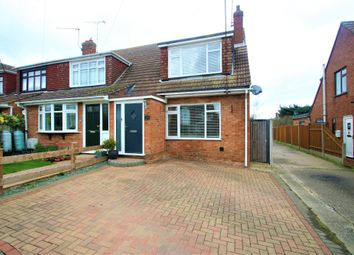 Thumbnail 3 bed end terrace house for sale in Windermere Avenue, Hullbridge, Hockley