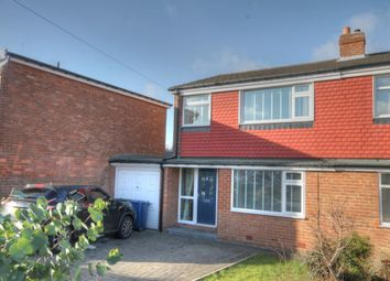 Thumbnail 3 bed semi-detached house for sale in Avalon Drive, South West Denton, Newcastle Upon Tyne
