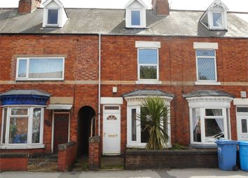 Thumbnail 3 bed terraced house for sale in Newcastle Avenue, Worksop, Nottinghamshire