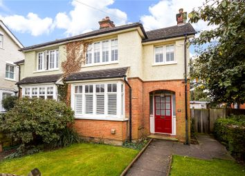 Thumbnail 3 bed semi-detached house for sale in Church Walk, Thames Ditton, Surrey