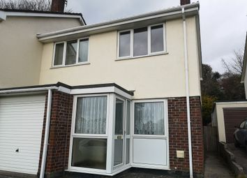 Thumbnail 3 bed semi-detached house to rent in Polgover Way, St. Blazey, Par