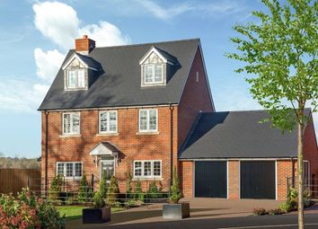 "Thumbnail 4 bed detached house for sale in ""The Oatvale"" at Oxford Road, Benson, Wallingford"