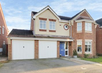 Thumbnail 4 bed detached house for sale in Old Tannery Drive, Lowdham, Nottinghamshire