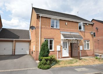 Thumbnail 2 bed semi-detached house for sale in Pinewood Close, Alfreton, Derbyshire