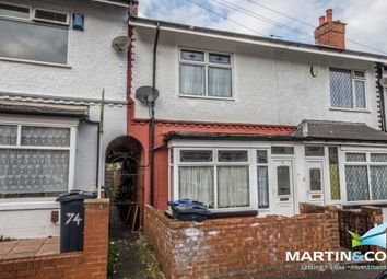Thumbnail 3 bed terraced house for sale in Bowden Road, Smethwick