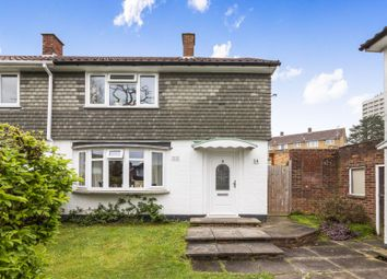 Thumbnail 3 bed end terrace house to rent in Spinner Green, Easthampstead, Bracknell