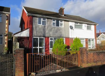 Thumbnail 3 bed semi-detached house for sale in Hillside, Aberdare