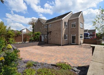 Thumbnail 5 bed detached house for sale in Abbots Road North, Humberstone Village, Leicester