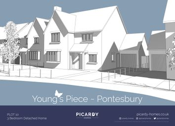 Thumbnail 4 bedroom detached house for sale in Plot 10 Young's Piece, Pontesbury