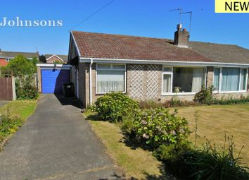 Thumbnail 2 bed semi-detached bungalow for sale in Insley Gardens, Bessacarr, Doncaster.