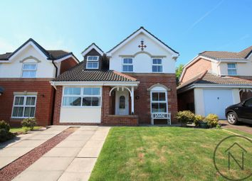 Thumbnail 3 bed detached house for sale in Kempton Close, Newton Aycliffe